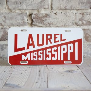 Laurel, Mississippi Tag
